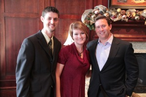 Mickey and Joanna Crews with Jon Gordon
